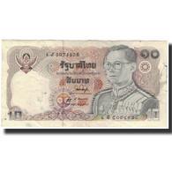 Billet, Thaïlande, 10 Baht, 1980, KM:87, TB+ - Thaïlande