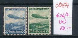 D.-Reich Nr. 606-7 (*)  (c8454  ) Siehe Scan - Allemagne