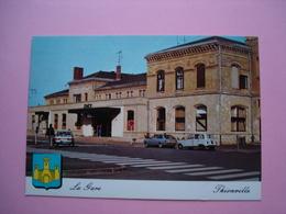 57 - THIONVILLE - La Gare (automobiles) - Thionville