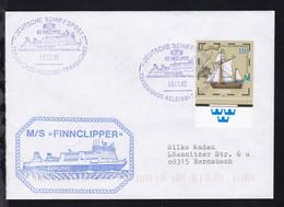 DEUTSCHE SCHIFFSPOST MS FINNCLIPPER FINNLINES TRAVEMÜNDE-HELSINKI-TRAVEMÜNDE  - Non Classés