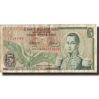 Billet, Colombie, 5 Pesos Oro, 1975, 1975-07-20, KM:406e, TB+ - Colombia