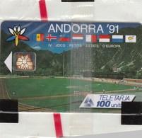 TELECARTE ANDORRA'91  100 UNITATS..NEUVE SOUS BLISTER - Andorra