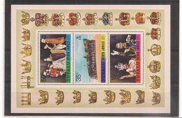 TUVALU Année 1977 Anniversaire Accession Au Trône De La Reine Elisabeth II N°Y/T : 43/45** Et Bloc N°1** Côte: 28,50 € - Tuvalu