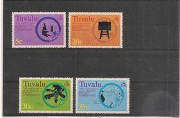 TUVALU Année 1977 Motifs Symboliques N°Y/T :46/49** - Tuvalu