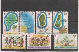 TUVALU Année 1978 Proclamation De L'indépendance N°Y/T :73/79** - Tuvalu