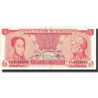 Billet, Venezuela, 5 Bolivares, 1989, 1989-09-21, KM:70a, TTB - Venezuela