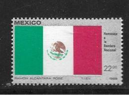 MEXIQUE 1985 DRAPEAUX  YVERT N°   NEUF MNH** - Messico