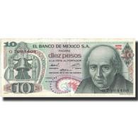 Billet, Mexique, 10 Pesos, 1974, 1974-10-16, KM:63g, TTB+ - Mexique