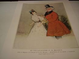 ANCIENNE PUBLICATION THEATRE VARIETE M.BRASSEUR ET E.LAVALLIERE 1904 - Théatre & Déguisements