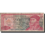 Billet, Mexique, 20 Pesos, 1977, 1977-07-08, KM:64d, TB+ - Mexico