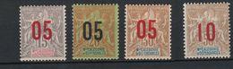 Nouvelle Calédonie No 105 à 109* - Nouvelle-Calédonie