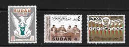 SOUDAN 1972 UNITE NATIONALE   YVERT N°254/56  NEUF MNH** - Soudan (1954-...)