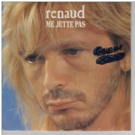 Renaud -Me Jette Pas/Allongés Sous Les Vagues - Vinyles