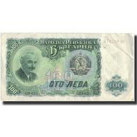 Billet, Bulgarie, 100 Leva, 1951, 1951, KM:86a, TB+ - Bulgarie