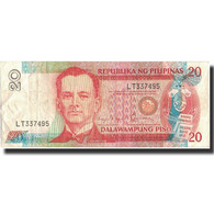 Billet, Philippines, 20 Piso, Undated (1986-94), Undated, KM:170b, TTB - Philippines