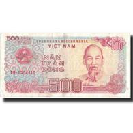 Billet, Viet Nam, 500 D<ox>ng, 1988, 1988, KM:101a, TTB+ - Vietnam
