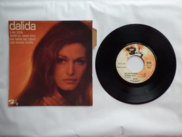 EP 45 T DALIDA  LABEL BARCLAY 71391  L'AN 2005   AVEC LANGUETTE ATTACHEE  RARE - Disco, Pop