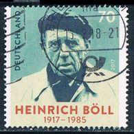 2017  100. Geburtstag Von Heinrich Böll - Oblitérés