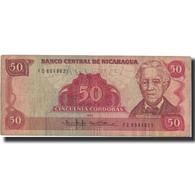 Billet, Nicaragua, 50 Cordobas, 1985, 1985, KM:153, TB+ - Nicaragua