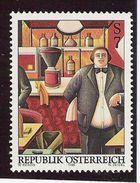 1999 Austria Österreich   Mi. 2296 **MNH   Caffee Girardi; Gemälde Von Wolfgang Herzig - 1991-00 Ungebraucht
