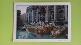 Cartolina ROMA - RM - Non Viaggiata - Postcard - Fontana Di Trevi (1) - Fontana Di Trevi