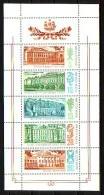 RUSSIA / RUSSIE - 1986 - Palais-Muses De Leningrad - PF De 5v** - 1923-1991 URSS