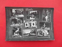 SAKI 1960 LENIN Monument, Restaurant, Sanatorium. Multiview Russian Photo Postcard. - Monuments