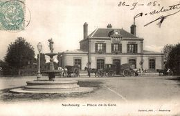 NEUBOURG PLACE DE LA GARE - Francia