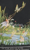Alice Marshall Fairyland Fancies  Oh, To Be With You Oilette   Ad484 - Illustratoren & Fotografen