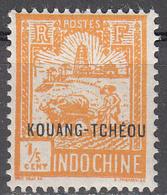 FRENCH OFFICES--KOUANG-TCHEOU     SCOTT NO. 76   MINT HINGED   YEAR  1927 - Kouang-Tcheou (1906-1945)