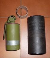 Grenade Practice M83 US Avec Son Container , 1939-45, Equipements, Mine, - Armes Neutralisées