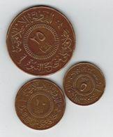 Islamic Sate Coins. 25, 10 And 5 Fils. - Monnaies