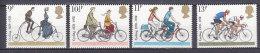 PGL AA0809 - GRANDE BRETAGNE Yv N°872/75 ** CYCLISME - 1952-.... (Elisabetta II)