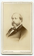 RC 8413 CDV PORTRAIT COMTE DE CHAMBORD PHOTO CHARLES JACOTIN PARIS - Anciennes (Av. 1900)