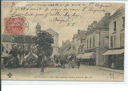 Selles-sur-Cher-Place Du Marché - Selles Sur Cher