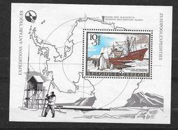 Belgique Bloc Feuillet N°42  Expéditions Antartiques Base Baudouin   Neuf * * TB  = MNH VF     Soldé ....... - Timbres