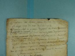 Acte Notarié 1797 Partage Des Enfants Dupont De Presgaux /2/ - Manuscrits