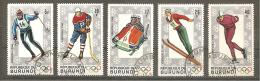 BURUNDI 1968 YT N° 260-/265 Oblitérés - Burundi