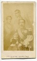 RC 8420 CDV PORTRAIT LES 4 NAPOLÉONS PHOTO JORDA PARIS - Anciennes (Av. 1900)