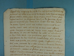 Acte Notarié 1775 Famille Dupont Presgaux /3/ - Manuscrits