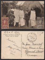 CONGO BELGE - BOMA / 1930 CARTE POSTALE ILLUSTREE POUR LA FRANCE  (ref LE1516) - Congo Belge