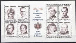 Monaco 1996 Yvertn° Bloc 72 *** MNH  Cote 21,00 Euro - Blocs