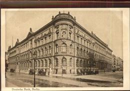 41383105 Berlin Deutsche Bank Berlin - Non Classés