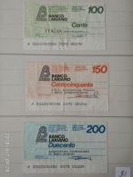 3 Mini Assegni Circolati Anni 1970 N. 21 - [10] Assegni E Miniassegni
