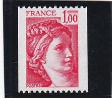 F 166 - France - Yt N° 1981 A ** - Rollen