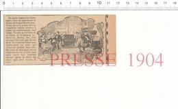 Presse 1904 Publicité Limonaire Frères Piano Musique Danse Valse Boom Enfants 216PF10XJ - Unclassified