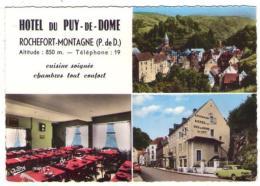 GF (63) 319, Rochefort-Montagne,j André 620, Multivues, Hotel Du Puy De Dome - Autres Communes