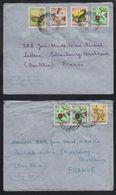 CONGO BELGE - STANLEYVILLE  / 1957 - 2 LETTRES AVION POUR LA FRANCE  (ref 7002) - Congo Belge