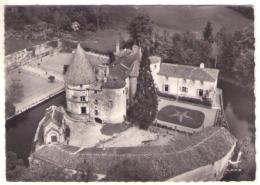 GF (63) 400, St Saint Dier, Lapie 6, Vue Aérienne, Château Des Martinanches, état - Autres Communes