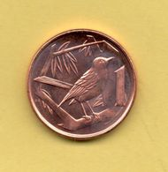 CAIMAN - CAYMAN ISLANDS - 1 Cent  1999 SC ANIMAL COIN PAJARO - Caimán (Islas)